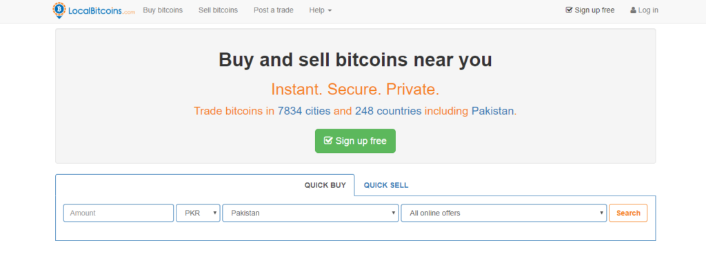 Best Places to Buy Bitcoin 3rd pick