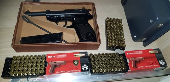Alleged Firearm Vendor and Customers Charged in Germany
